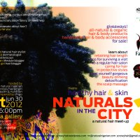 Naturals In The City 3: this Saturday, June 30!