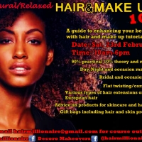 Natural/Relaxed Hair & Makeup 101 – UK Meet-Up