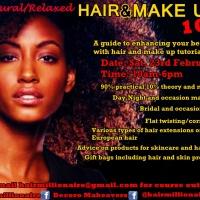 Natural/Relaxed Hair & Makeup 101 – UK Meet-Up